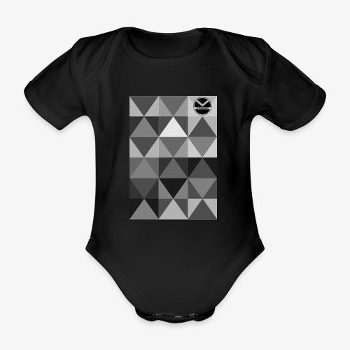 |K·CLOTHES| TRIANGULAR ESSENCE - Body orgánico de maga corta para bebé