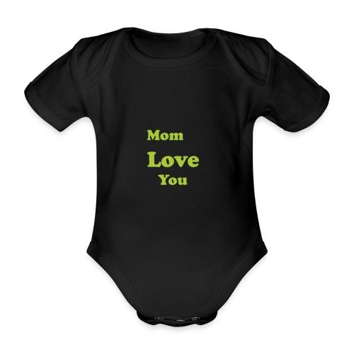 Nameless 3 - Organic Short-sleeved Baby Bodysuit