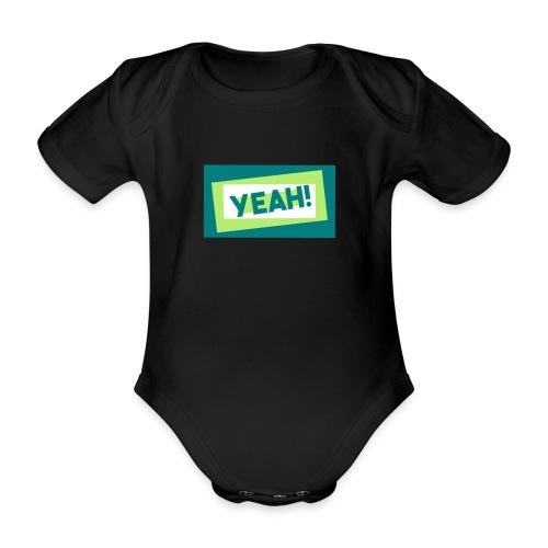 Teddy.Kidswear. – Yeah! - Baby Bio-Kurzarm-Body