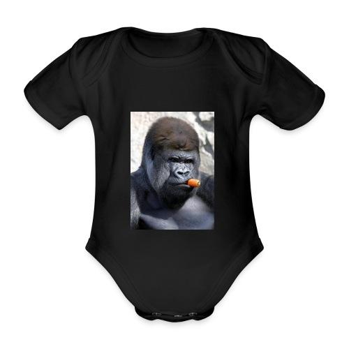 singe - Body Bébé bio manches courtes