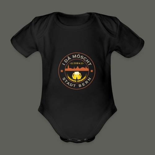 Logo farbig - Baby Bio-Kurzarm-Body