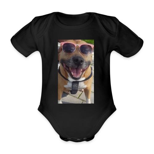 Cool Dog Foxy - Baby bio-rompertje met korte mouwen