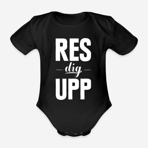 Res dig upp - Ekologisk kortärmad babybody