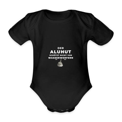 Aluhut und Wasserwerfer - Baby Bio-Kurzarm-Body