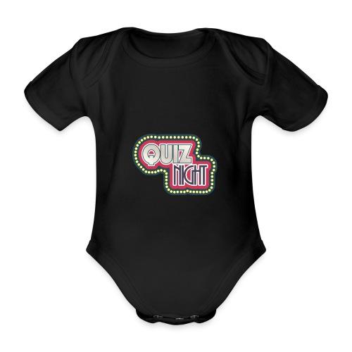 quiz - Baby Bio-Kurzarm-Body