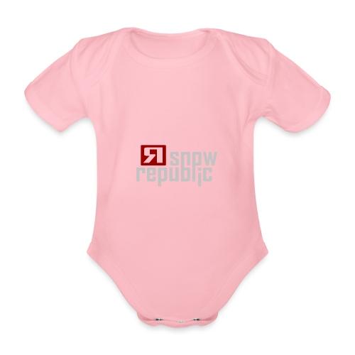 SNOWREPUBLIC 2020 - Baby bio-rompertje met korte mouwen