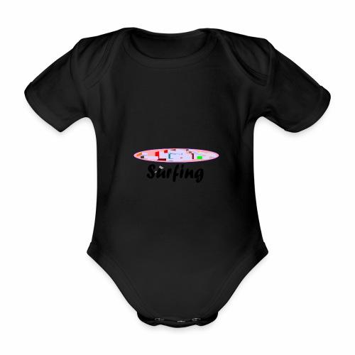 Surfing - Baby Bio-Kurzarm-Body