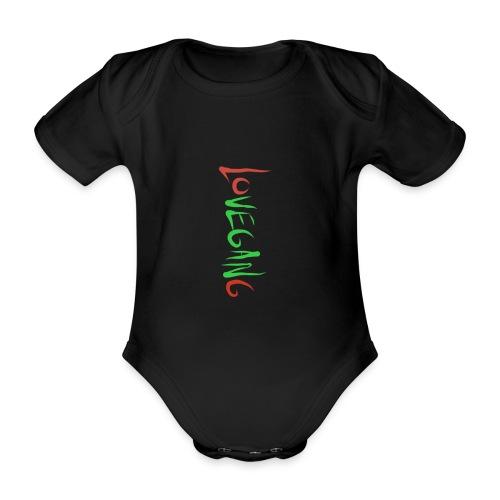 Lovegang - Vauvan lyhythihainen luomu-body