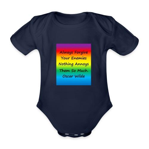 Forgiveness - Organic Short-sleeved Baby Bodysuit