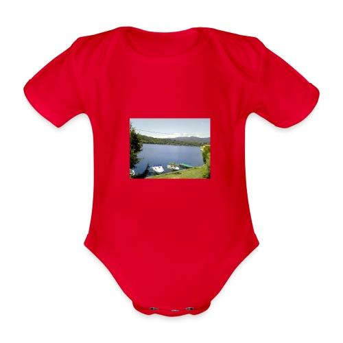 Lago - Body ecologico per neonato a manica corta