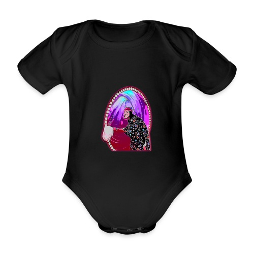 SERGI - Body orgánico de maga corta para bebé