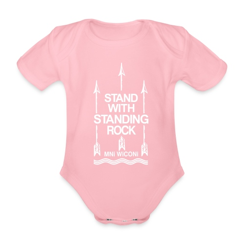 Stand - Kortærmet babybody, økologisk bomuld