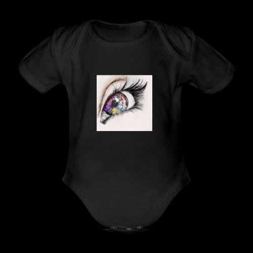 desenho design olhos eye Favim com 403064 - Baby bio-rompertje met korte mouwen