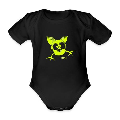 Eulchen - Baby Bio-Kurzarm-Body