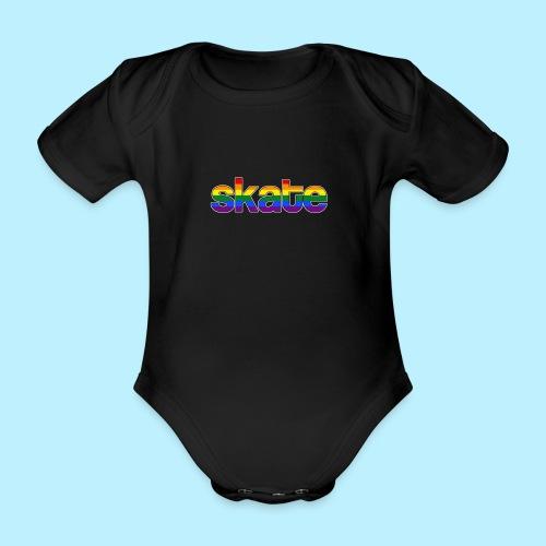 8888 - Baby bio-rompertje met korte mouwen