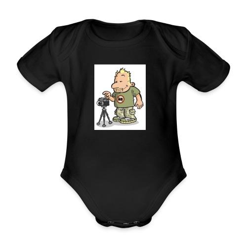 zenker illu - Baby Bio-Kurzarm-Body