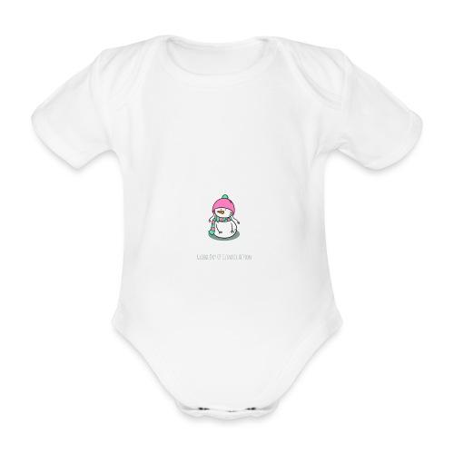 Globaler Klimastreik Klimaschutz Demo Shirt - Baby Bio-Kurzarm-Body