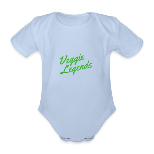 Veggie Legends - Organic Short-sleeved Baby Bodysuit