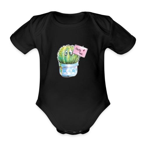 hug me - Baby Bio-Kurzarm-Body