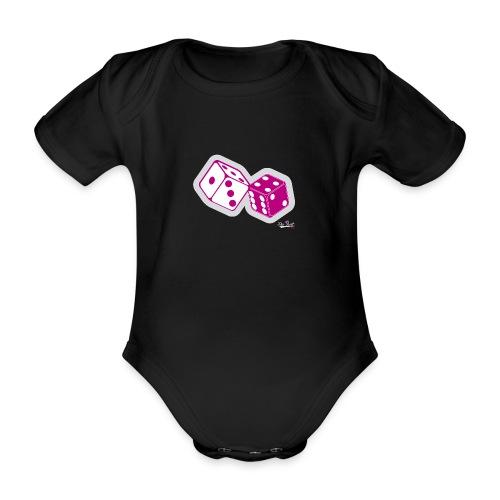 DADOS THE BEST - Body orgánico de maga corta para bebé