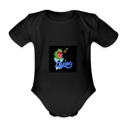 Baby hat hunger - Baby Bio-Kurzarm-Body