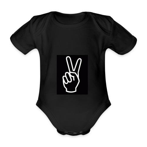 MVlogsmerch - Organic Short-sleeved Baby Bodysuit