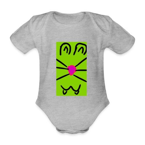 Gato :3 - Body orgánico de maga corta para bebé