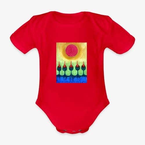 Zenit - Ekologiczne body niemowlęce z krótkim rękawem