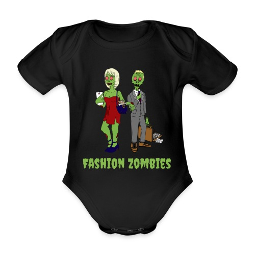Fashion Zombie - Organic Short-sleeved Baby Bodysuit