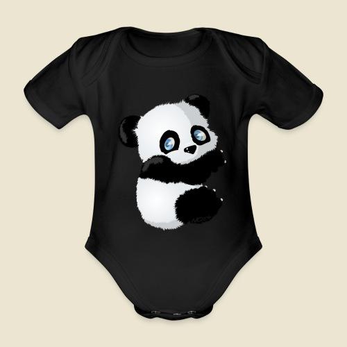 Bébé Panda - Body Bébé bio manches courtes