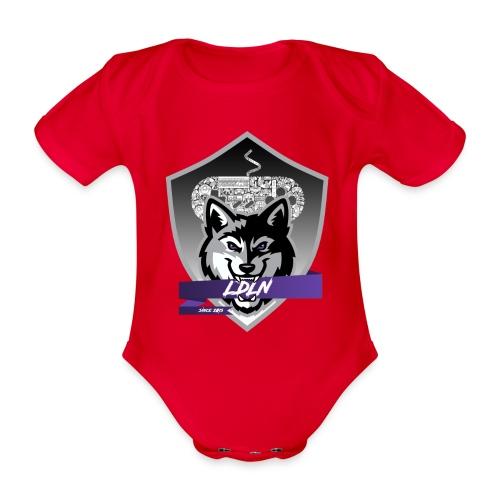 Le logo de la Légion de la Nuit - Body Bébé bio manches courtes