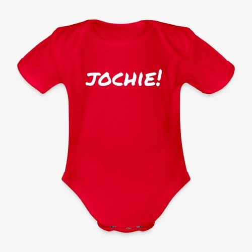 Jochie - Baby bio-rompertje met korte mouwen