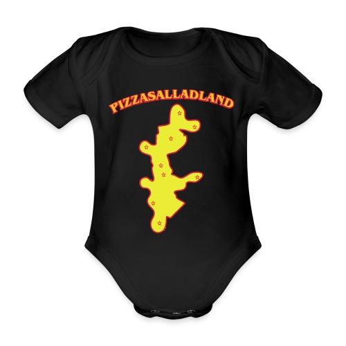 Pizzasalladland - Ekologisk kortärmad babybody
