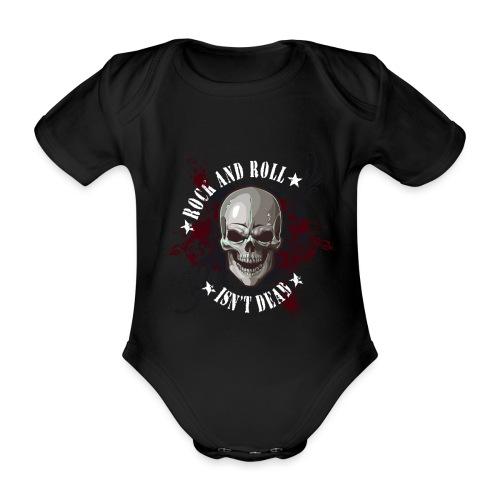 Rock and Roll isn´t dead - Body orgánico de maga corta para bebé