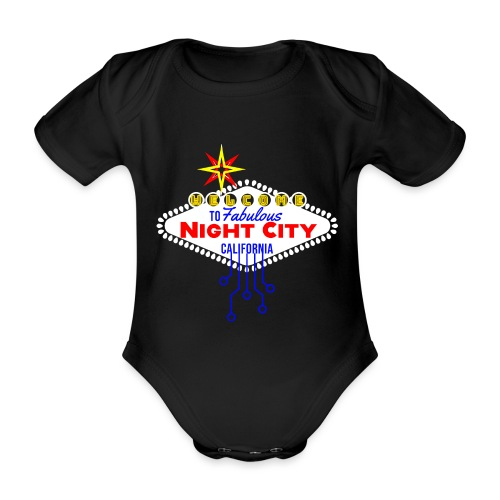 Welcome to fabulous Night City Cyber Punk 2077 - Baby Bio-Kurzarm-Body