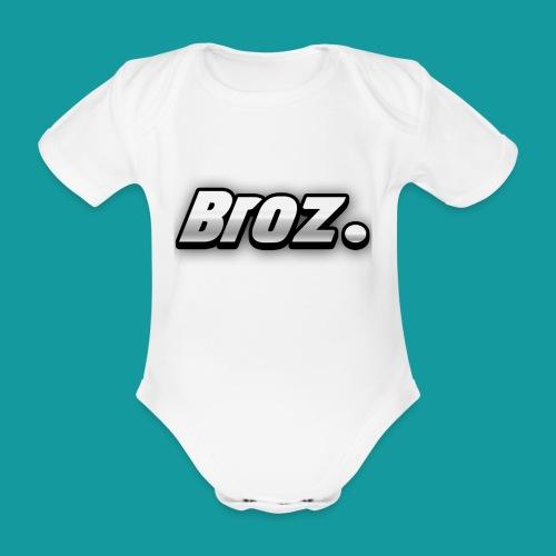 Broz. - Baby bio-rompertje met korte mouwen