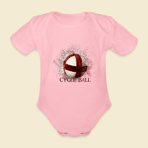 Radball | Cycle Ball - Baby Bio-Kurzarm-Body