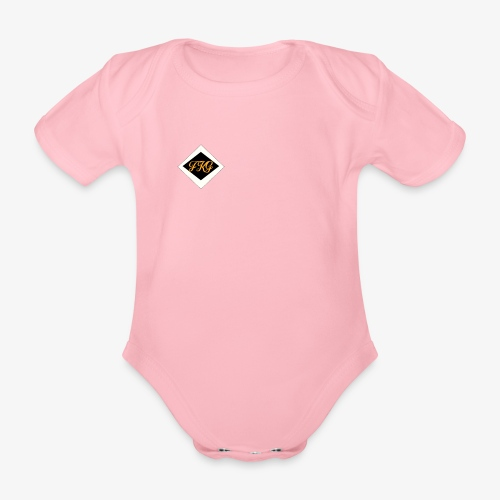 FakaG - Baby bio-rompertje met korte mouwen
