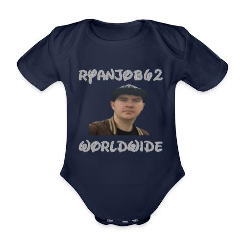 Ryanjob62 Worldwide - Organic Short-sleeved Baby Bodysuit