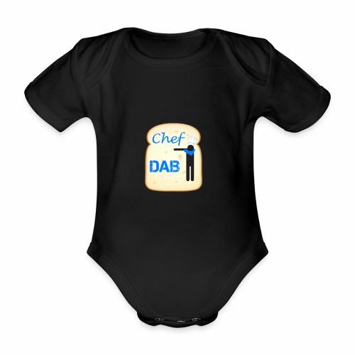 Dab Chef - Body ecologico per neonato a manica corta