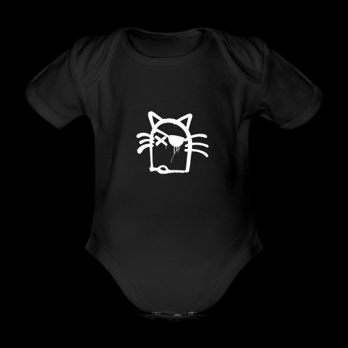 Coole Katze Sonja - Baby Bio-Kurzarm-Body