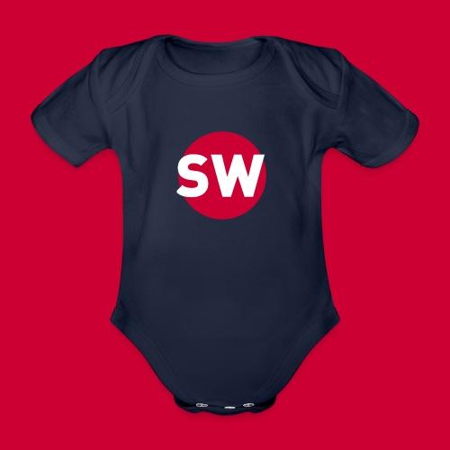 SchipholWatch - Baby bio-rompertje met korte mouwen