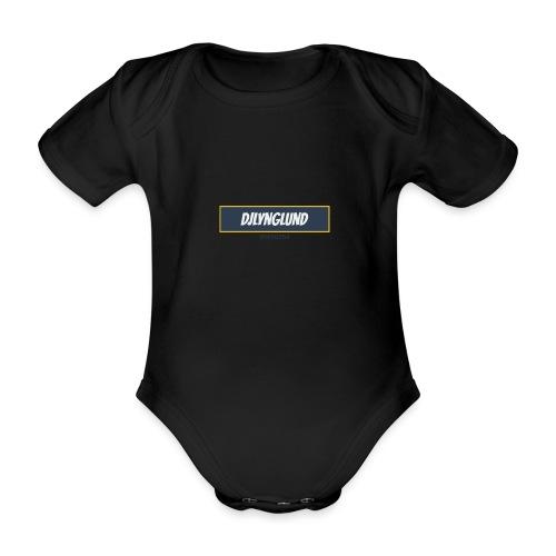DJLynglund - Økologisk kortermet baby-body