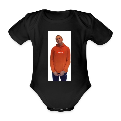 Sigrid_uPhotoTee - Økologisk kortermet baby-body