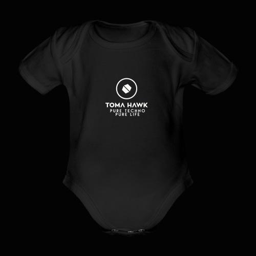 Toma Hawk - Pure Techno - Pure Life White - Baby Bio-Kurzarm-Body