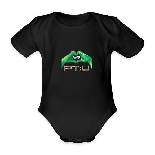 PT:U x NHS - Organic Short-sleeved Baby Bodysuit