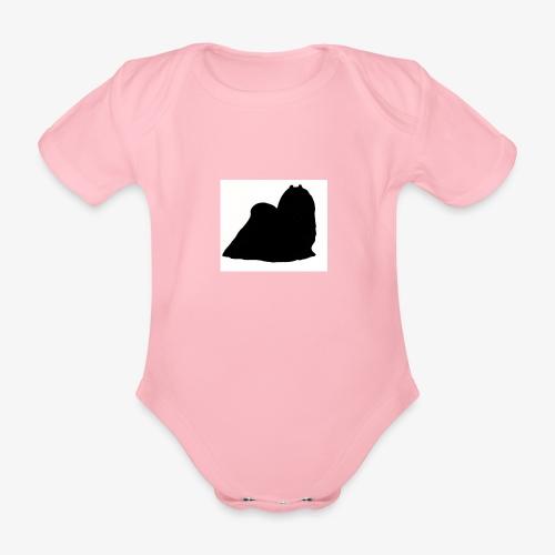 Maltese - Organic Short-sleeved Baby Bodysuit