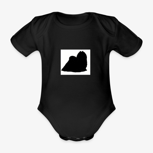 Maltese - Organic Short-sleeved Baby Bodysuit