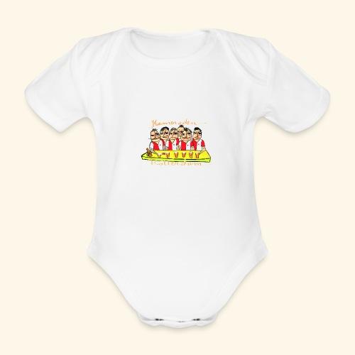 Kameraden Feyenoord - Baby bio-rompertje met korte mouwen