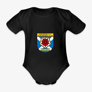 Montrose FC Supporters Club - Organic Short-sleeved Baby Bodysuit